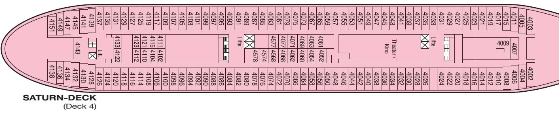 Aktueller Deckplan Der Ms Albatros