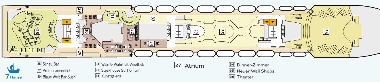 kreuzfahrt position