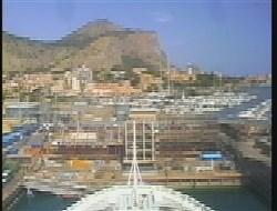 Webcam von der Brücke der Costa Luminosa