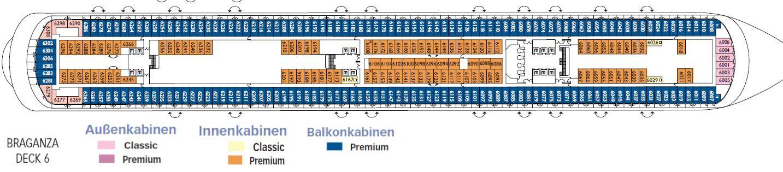 80 deckplan costa diadema costa diadema deck 2 plan for Bml arredamenti monticello conte otto vi
