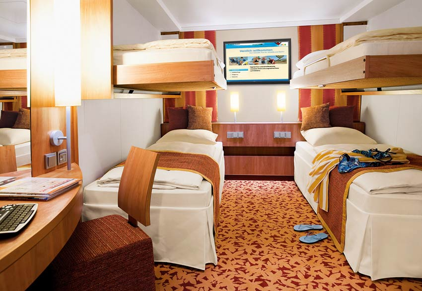 Kabinen Der AIDAblu AIDA Cruises