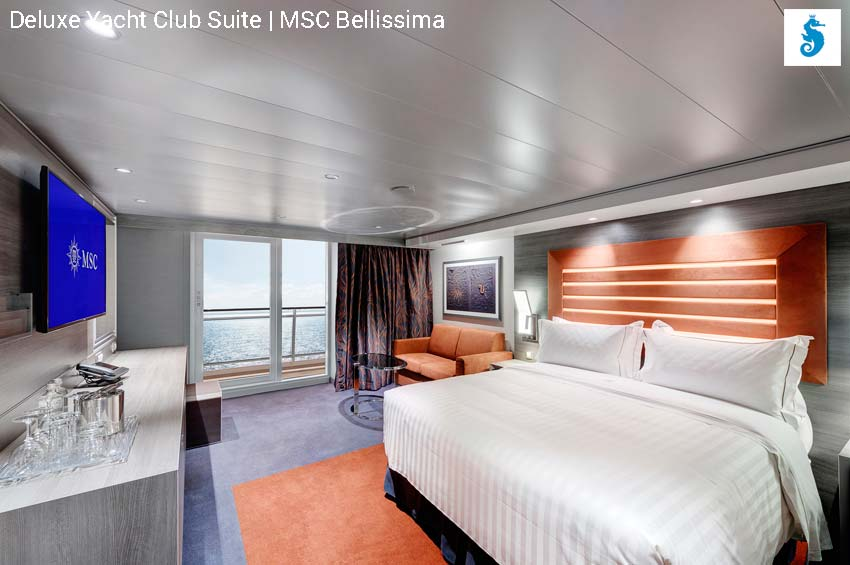 Deluxe Yacht Club Suite | MSC Bellissima
