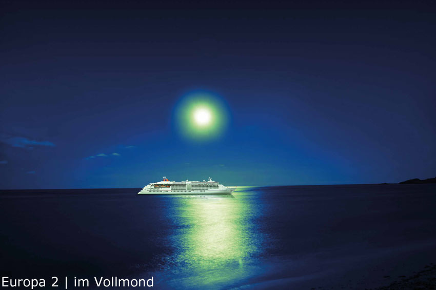 MS Europa 2 | Vollmond
