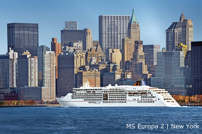 MS Europa 2 | New York
