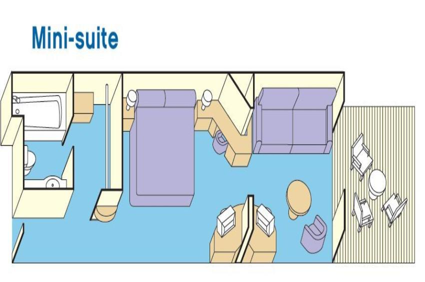 Mini Dusche Grundriss : Kabinen und Suiten der Star Princess Kreuzfahrt-Ticket.de
