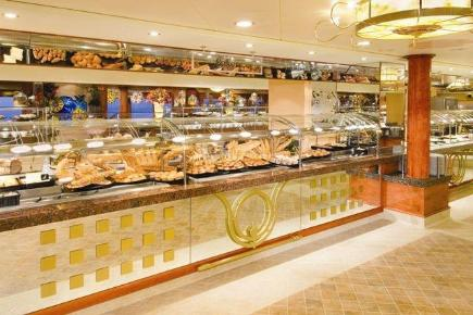 Norwegian Gem Garden Cafe Buffet