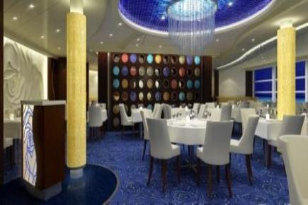 Celebrity Eclipse The Blu Restaurant