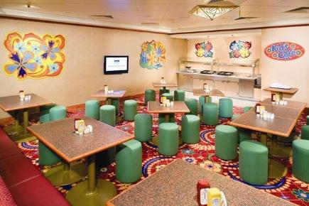 Norwegian Gem Kid's Cafe