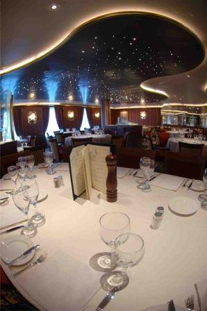 Crown Princess Davinci Dining Room