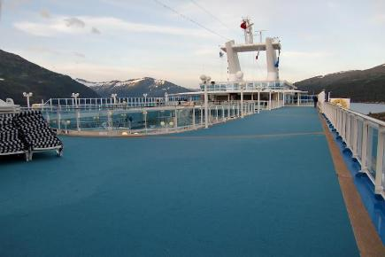 Island Princess Joggingtrack