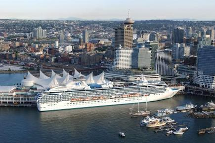 Island Princess in Vancouver