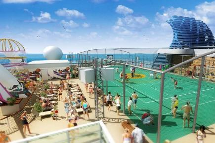 Norwegian Epic Sportsdeck