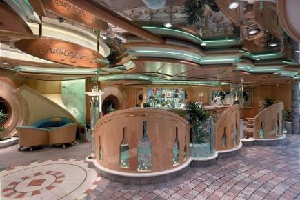 Explorer of the Seas Champagne Lounge