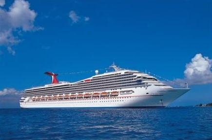 Carnival Conquest auf hoher See