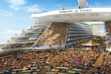 Oasis of the Seas Aqua Theater und Kletterwand