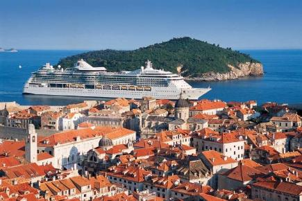 Brilliance of the Seas in Dubrovnik