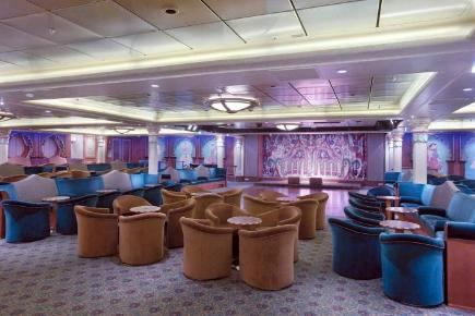 Explorer of the Seas Maharaja Lounge