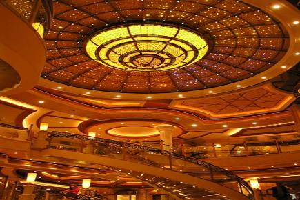 Crown Princess Atrium