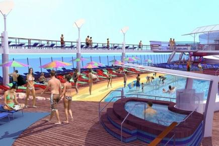 Oasis of the Seas Beach Pool