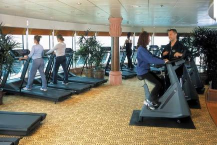 Brilliance of the Seas Fitness