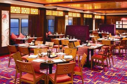 Norwegian Gem Orchid Garden Asian Restaurant