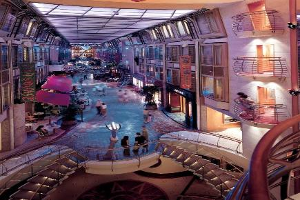 Explorer of the Seas Promenade