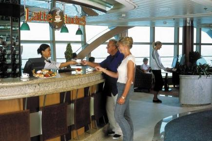 Brilliance of the Seas Bar Lattetude