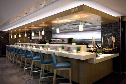Norwegian Epic Wasabi Sushi Restaurant