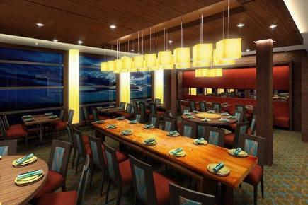 Celebrity Equinox Silk Harvest Restaurant