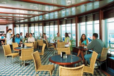 Brilliance of the Seas Meerblick Kaffee