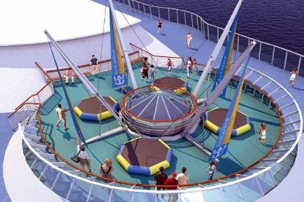 Enchantment of the Seas Bungee Topdeck