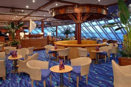 Norwegian Sky Outrigger Lounge