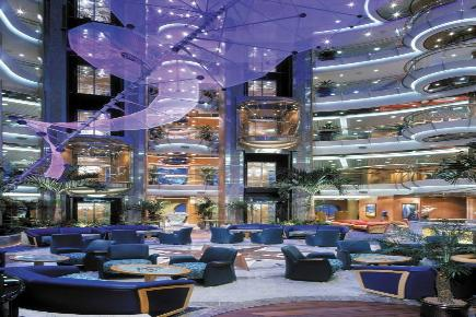 Brilliance of the Seas Lobby