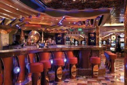 Carnival Freedom Babylon Casino Bar