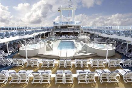Coral Princess Pooldeck