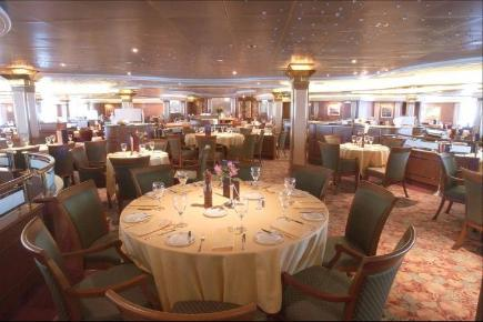 Coral Princess Diningroom