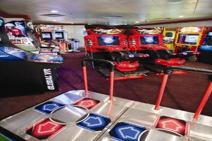 Norwegian Gem Video Arcade