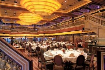 Carnival Freedom Posh Dining Room