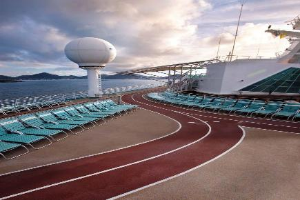 Explorer of the Seas Jogging Bahn