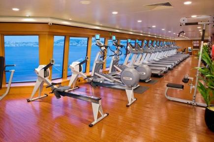 Norwegian Gem Body Waves Fitness Center