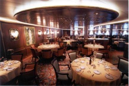 Golden Princess Diningroom
