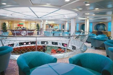 Celebrity Constellation Champagner Lounge