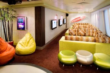 Norwegian Gem The Leopard Lounge