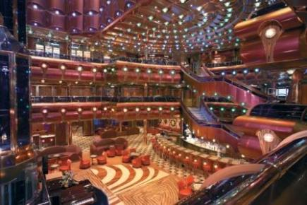 Carnival Freedom The Millennium Atrium Bar