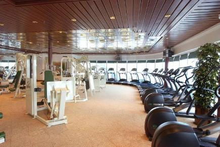 Coral Princess Gym