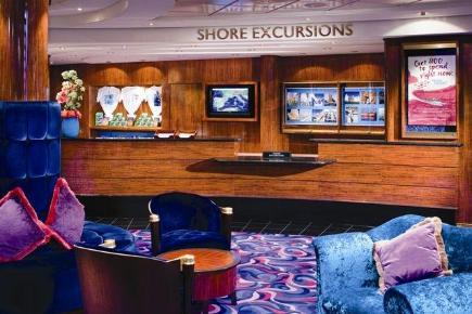 Norwegian Gem Shore Excursions Desk