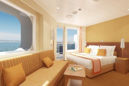 Suite der Carnival Breeze
