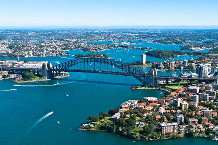 Harbour Bridge, Sydney, Australien