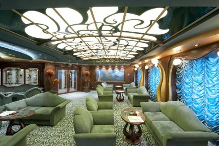 MSC Splendida Cigar Room
