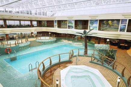 MSC Splendida L'Equatore Pool